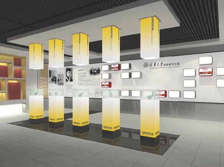 深圳led灯具展厅设计图片
