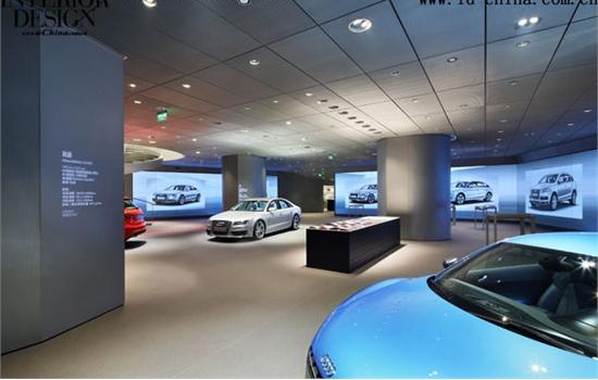 深圳奥迪汽车展厅设计图片