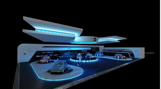 深圳宝马展厅设计图
